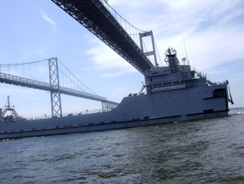 MG Robert Smalls - Bay Bridge